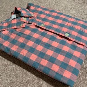 Mens J. Crew Casual Checkered Shirt